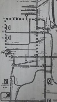 バリ島 クタ地区の大晦日、12月31日の交通規制のご案内