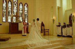 サントミカエル教会 西洋式挙式の画像42